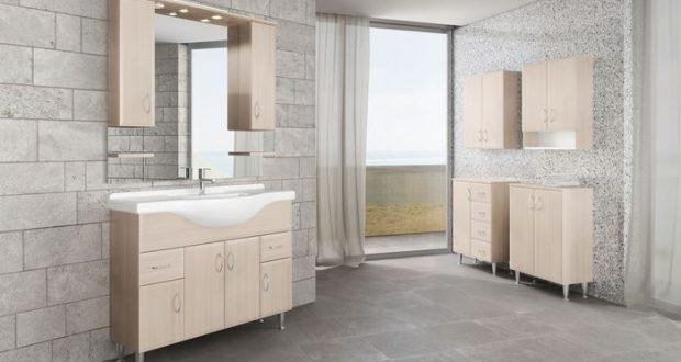 Változatos fürdőszoba bútorok.